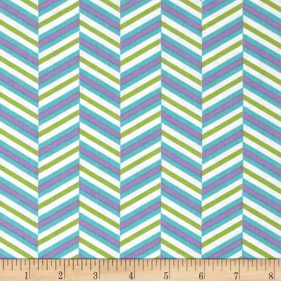 Pop Rox Chevron Blue