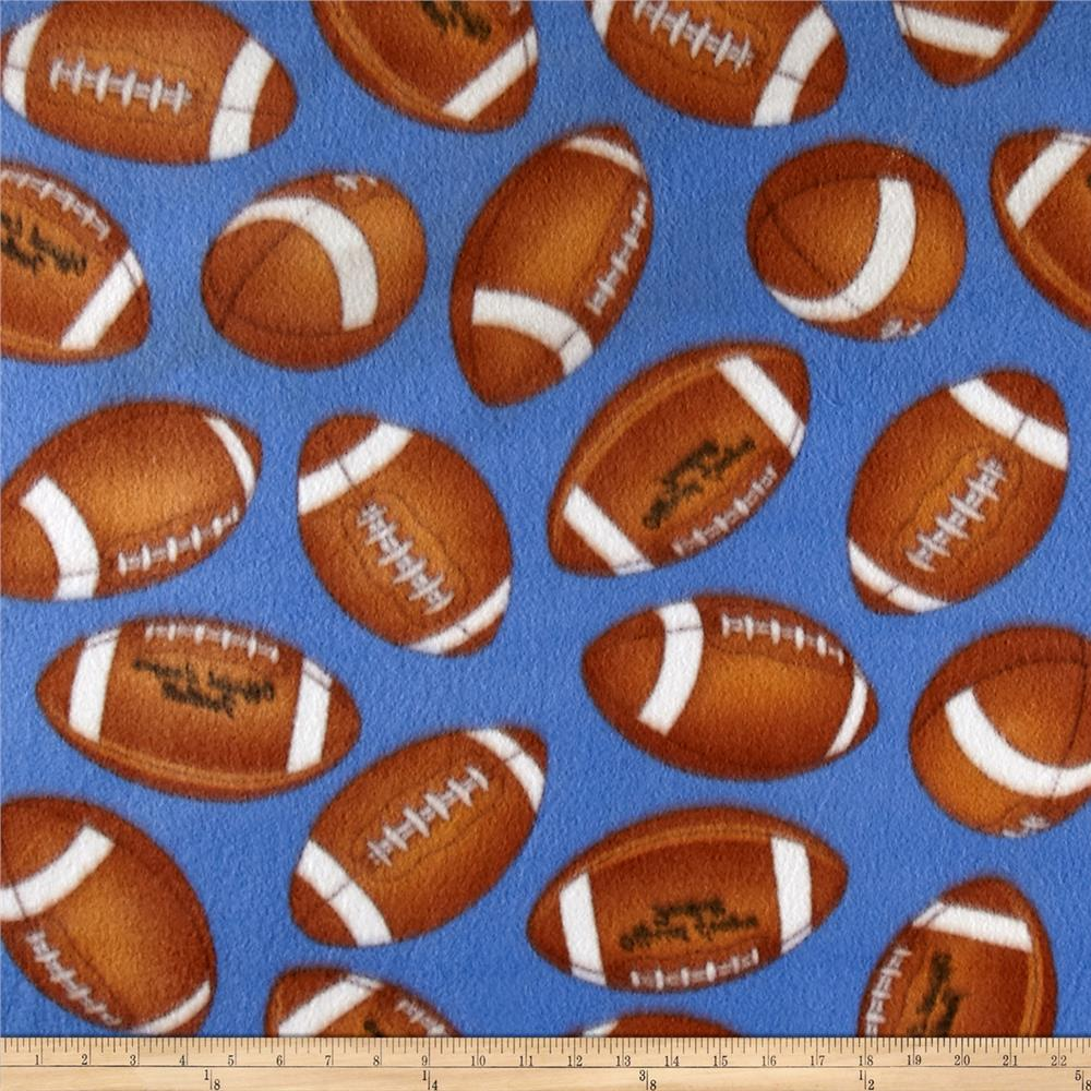 Football Fleece Blue