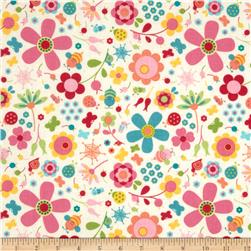 Riley Blake Snug as a Bug Large Floral