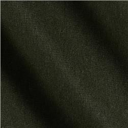Cotton Poly Double Knit Army Green