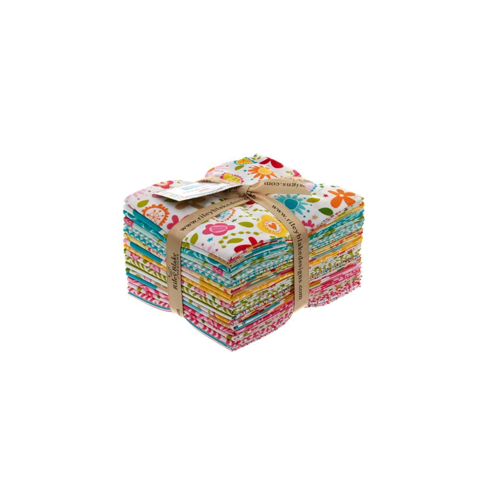 Riley Blake Summer Breeze Fat Quarter Assortment Multi