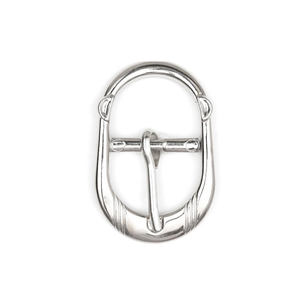 Dill Fashion Buckle 20mm Silver Finish