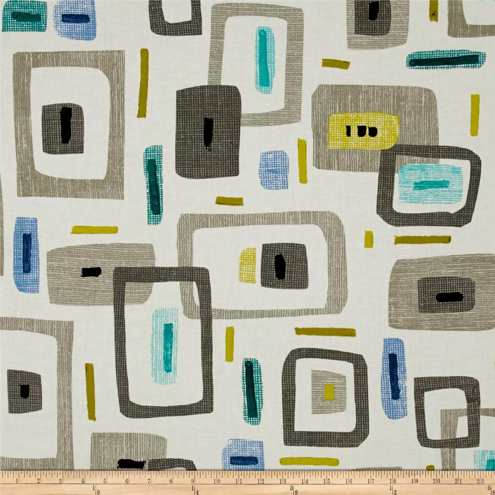 Contempo Cachet Geo Green/Gray