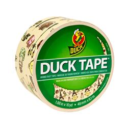 "Patterned Duck Tape 1.88"" x 10yd-Paris"
