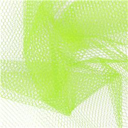 "72""  Wide Nylon Netting Neon Yellow"