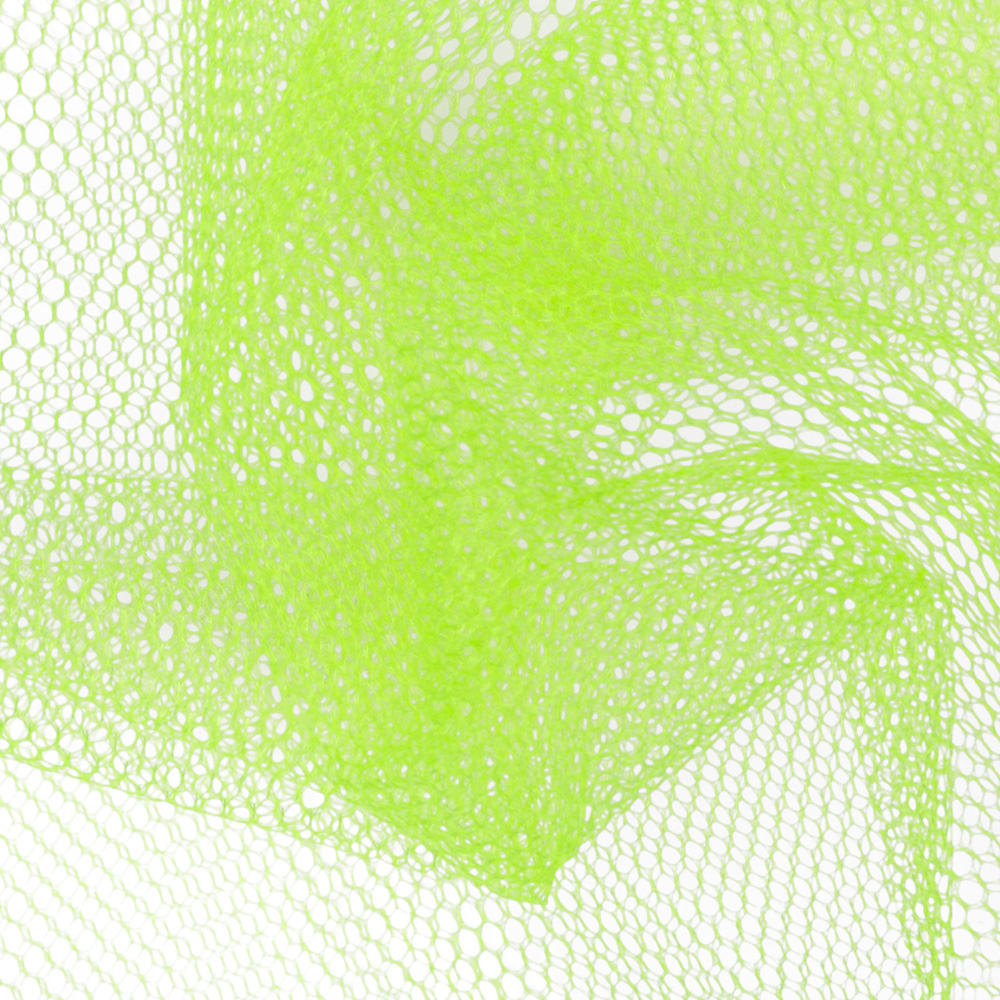 Nylon Netting Neon Yellow Fabric