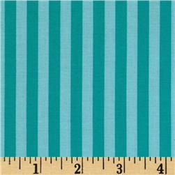 Michael Miller Clown Stripe Luna Fabric