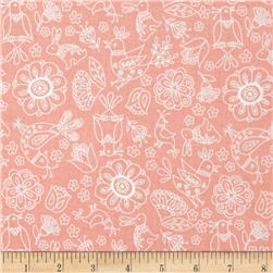 Riley Blake Dutch Treat Floral Pink