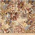 Kaya Metallic Packed Floral Natural/Gold