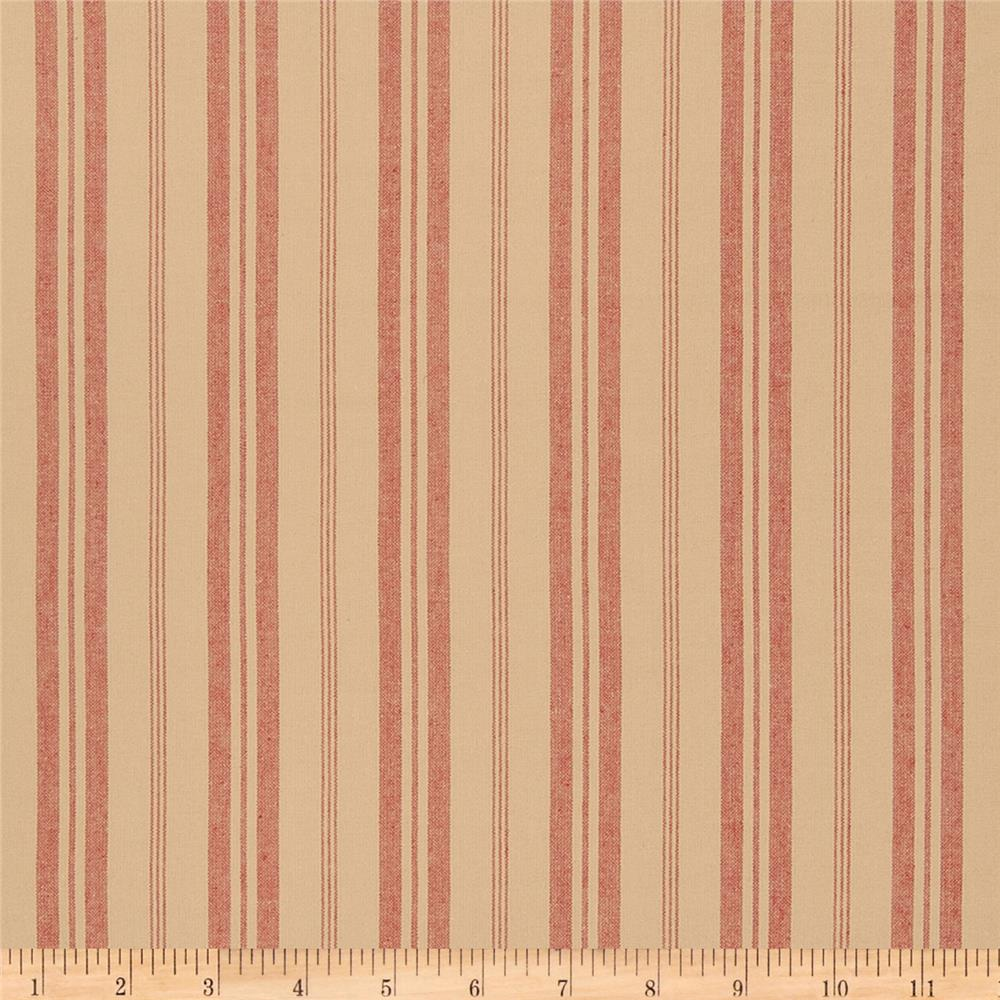 French General Stripe Blend Rural Red