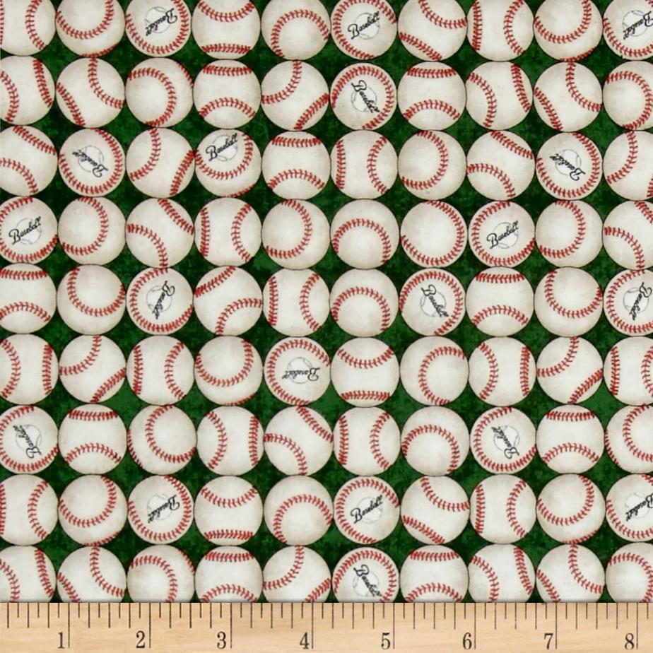 Grand Slam Baseballs Green