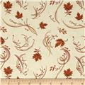 Moda Maple Island Falling Leaves Cream
