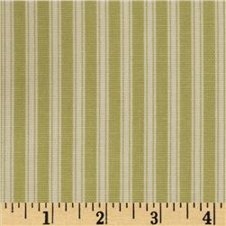 Magnolia Home Fashions Polo Stripe Fern Green