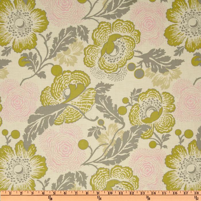 Amy Butler Midwest Modern II Fresh Poppies Linen