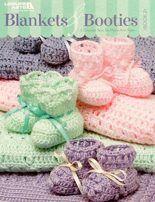 Leisure Arts Blankets & Booties, Book 2