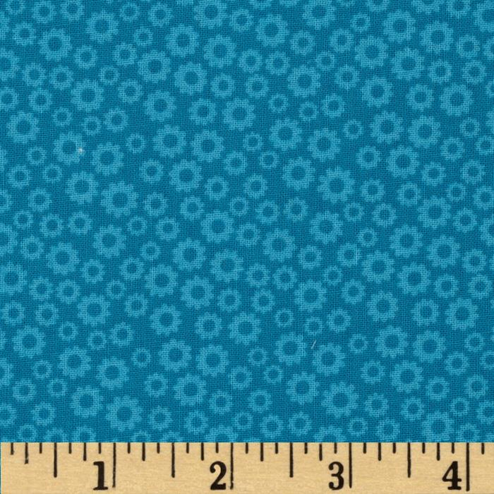 Tone on Tone Small Floral Blue
