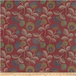 Fabricut Good Looking Jacquard Ruby