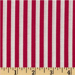 Basic Training Stripe Fuchsia/White