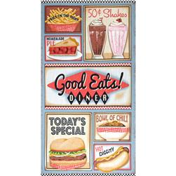 Good Eats Diner Panel Multi Fabric