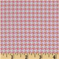 Michael Miller Tiny Houndstooth Peach