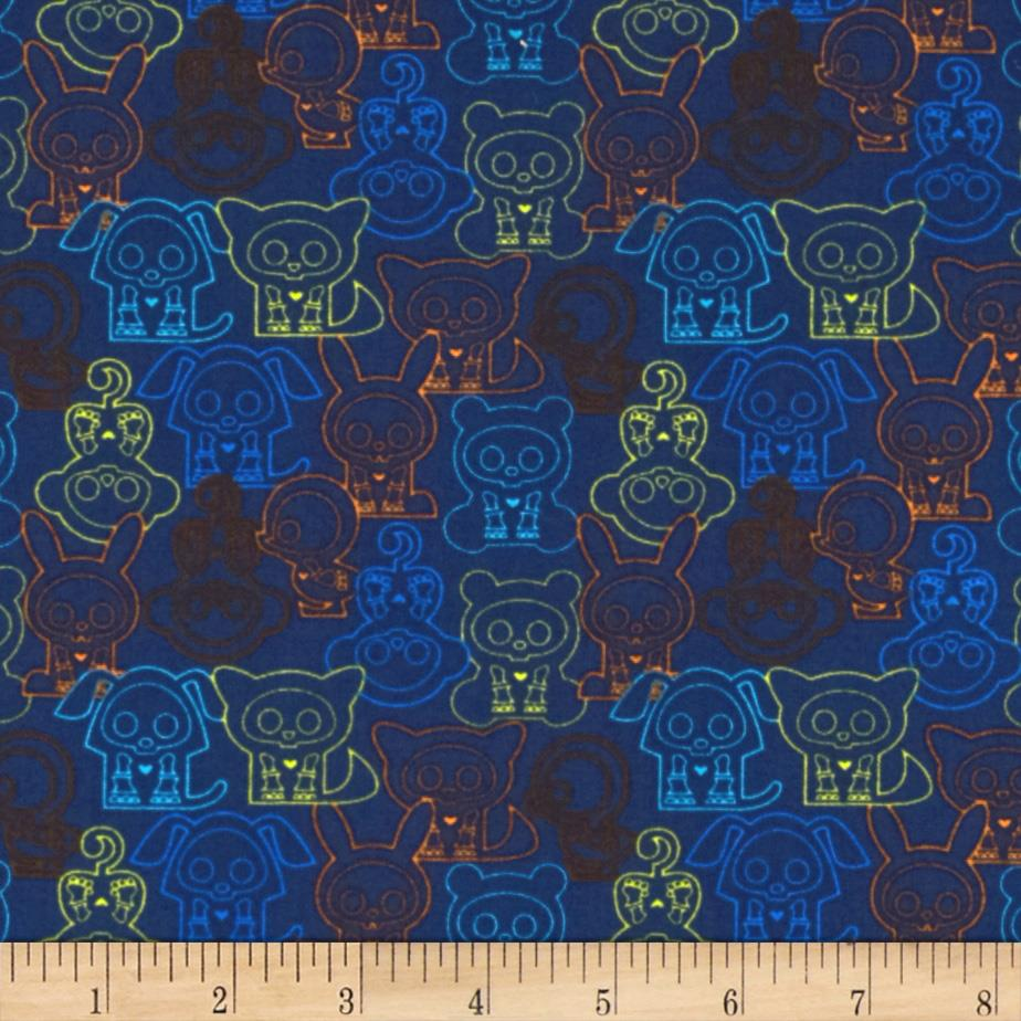 Skelanimals Outline Navy