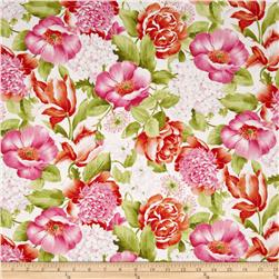 Adele Large Floral White