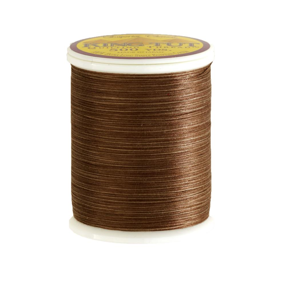 Superior King Tut Cotton Quilting Thread 3-ply 40wt 500yds Pine Cone