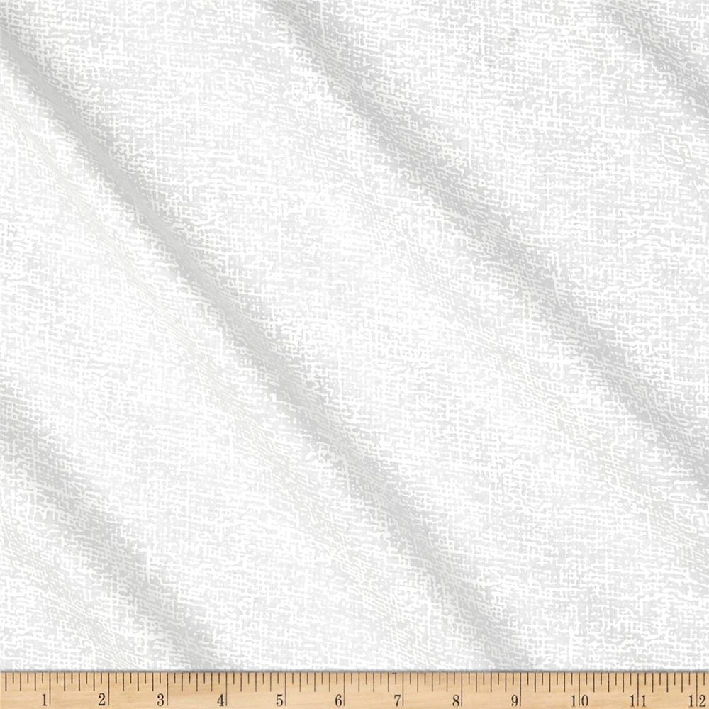 """Touch of White 108"""" Wide Back Texture White"""