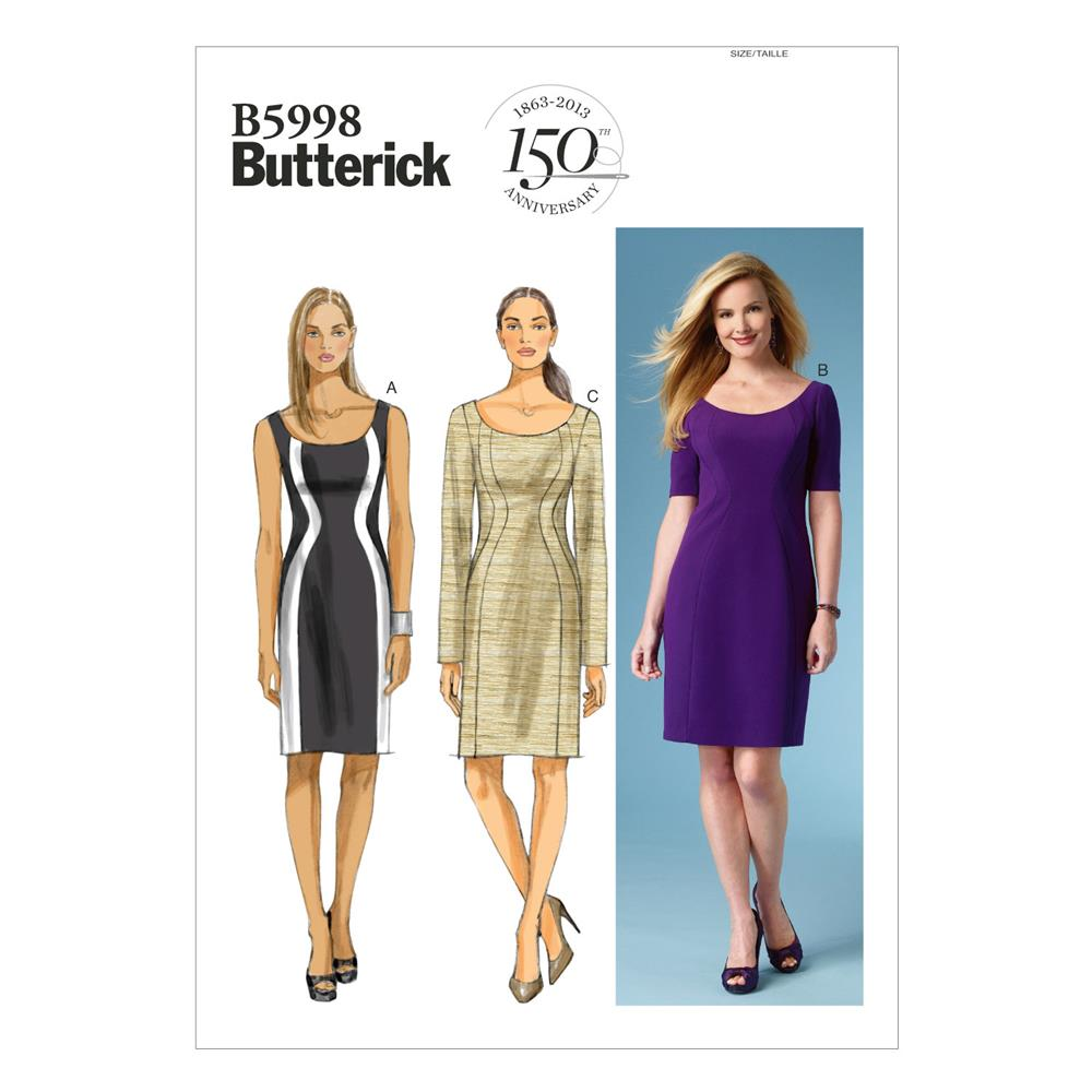 Butterick Misses'/Women's Dress Pattern B5998 Size B50