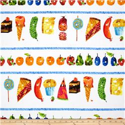 The Very Hungry Caterpillar Flannel Picnic Treats Repeating