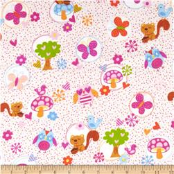 Comfy Flannel Owls, Squirrels & Butterflies