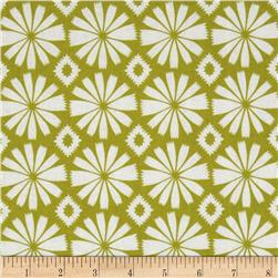 Pippa Ikat Dot Green