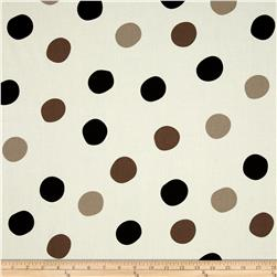 Birch Organic Mod Basics 3 Pop Dots Grayscale
