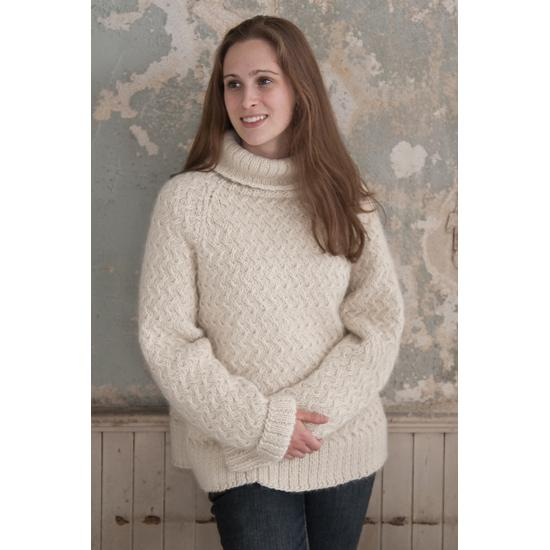 Mac & Me Weekend Sweater Knitting Pattern