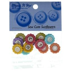 Dress It Up Embellishment Buttons  Sew Cute Sunflowers