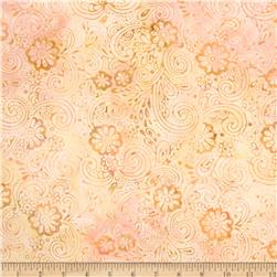 Batavian Batiks Garden Party Sweet Peach