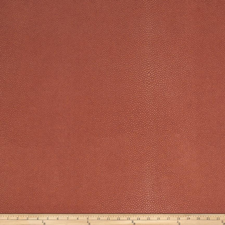 Fabricut Canberra Faux Leather Pomegranate