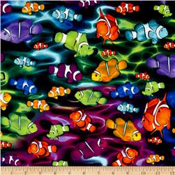 Kanvas Life's a Beach Tide Rainbow Clownfish Multi Bright