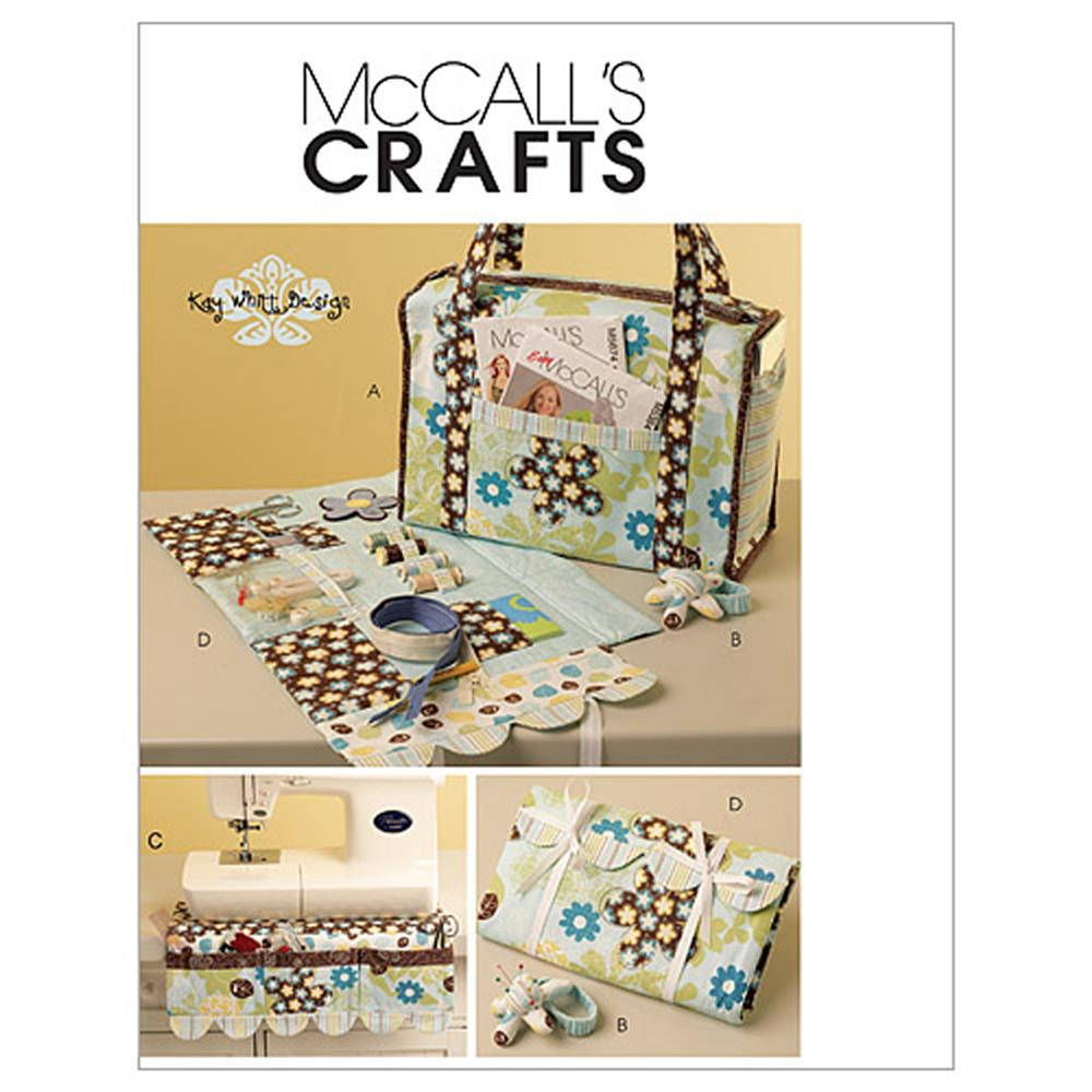 McCall's Project Tote, Organizer, Pin Cushion and Machine