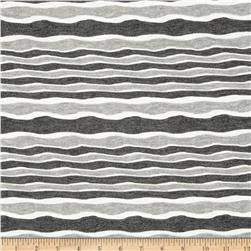 River Knit Stripes Grey/Charcoal/White