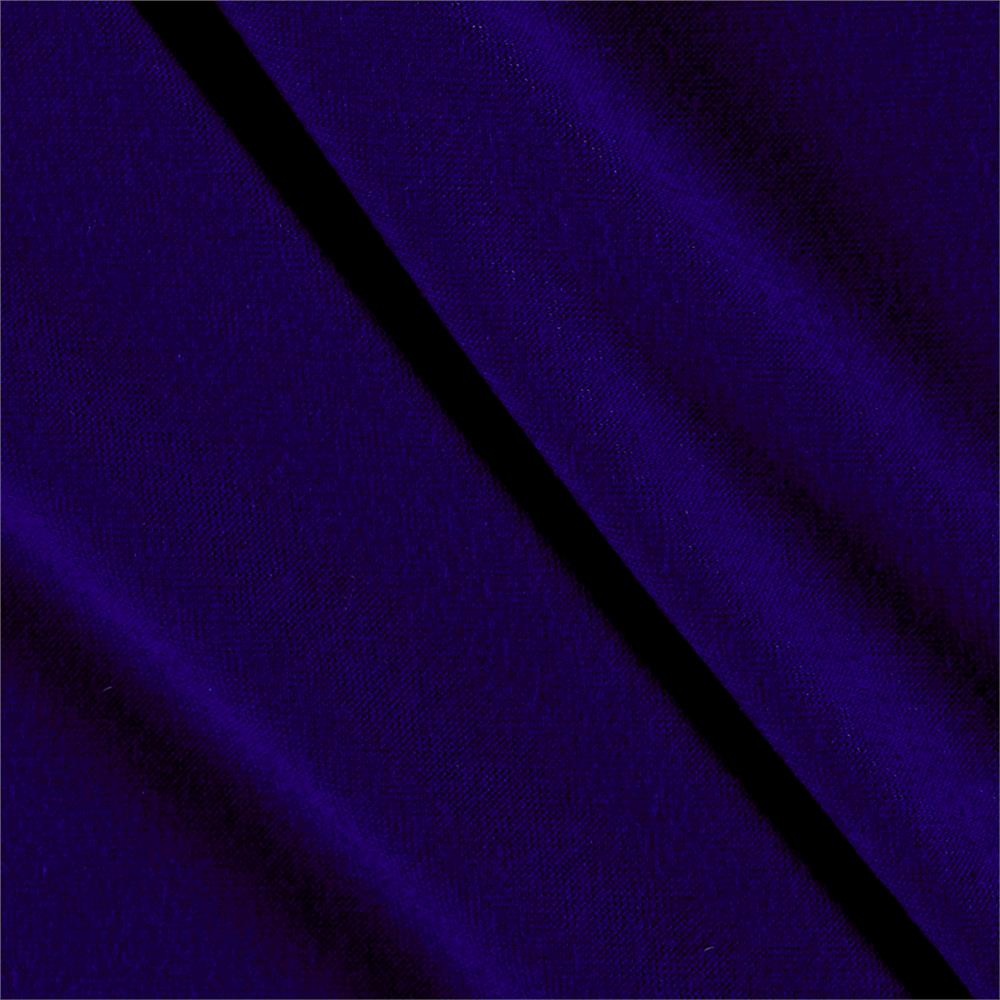 Rayon Jersey Knit Solid Violet Fabric