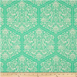 Heather Bailey Clementine Summerhouse Turquoise Fabric