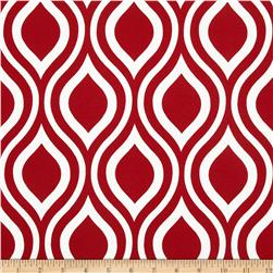Premier Prints Indoor/Outdoor Nicole Rojo Red