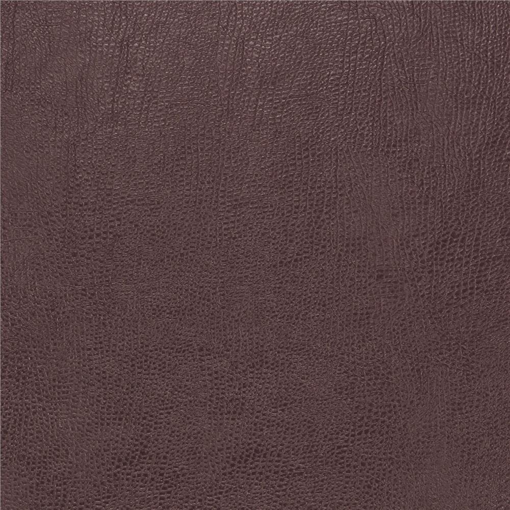 Fabricut 03343 Faux Leather Grape