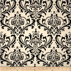 Premier Prints Traditions Black/Natural Fabric