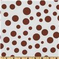 Michael Miller Lolli Dot Cappuccino Brown