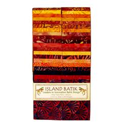 "Island Batik Pumpkin Patch 2.5"" Strip Pack"