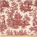 Waverly Country Life Toile Garnet