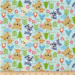 Outdoor Heaven Flannel Outdoor Friends Sky/Multi