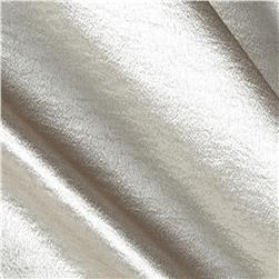 Stretch Crepe Satin Champagne